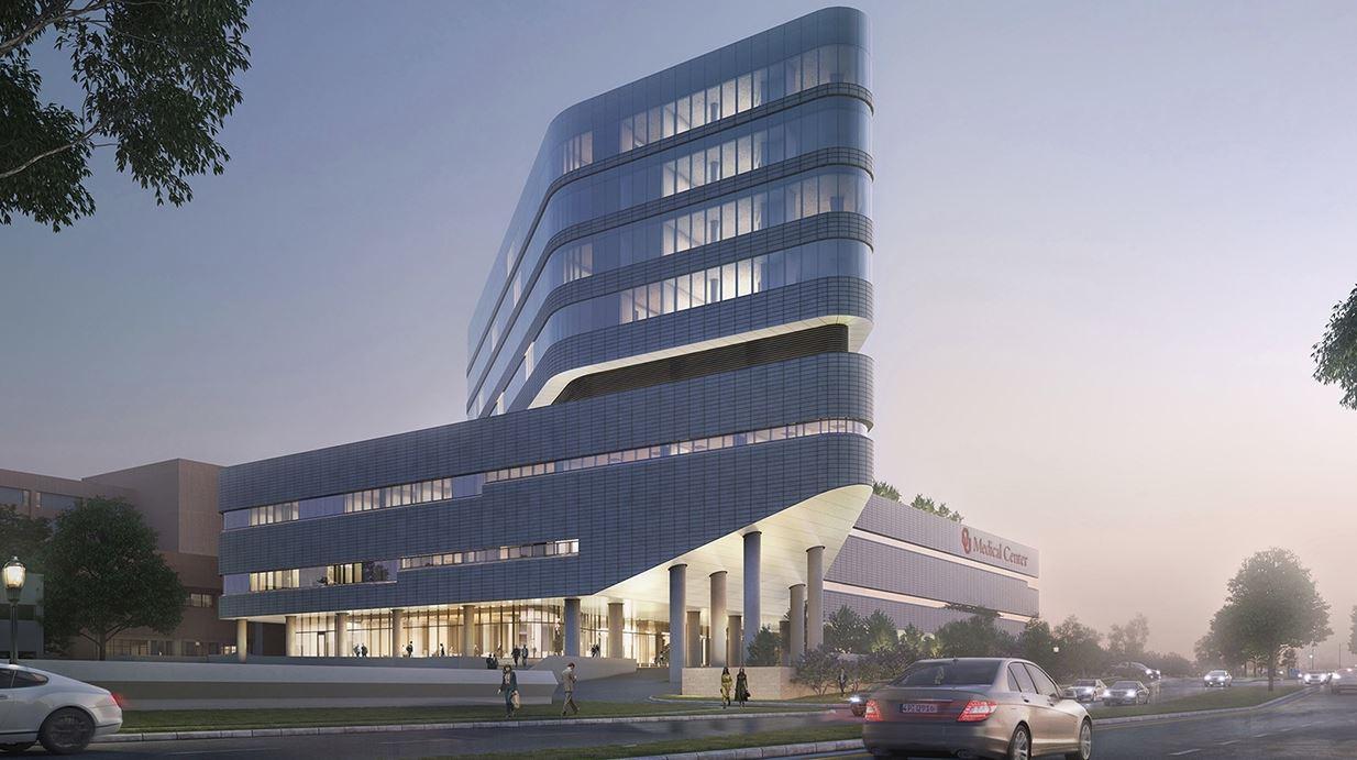 Ou Medical Center Oklahoma City Usa 171 Studio Cad